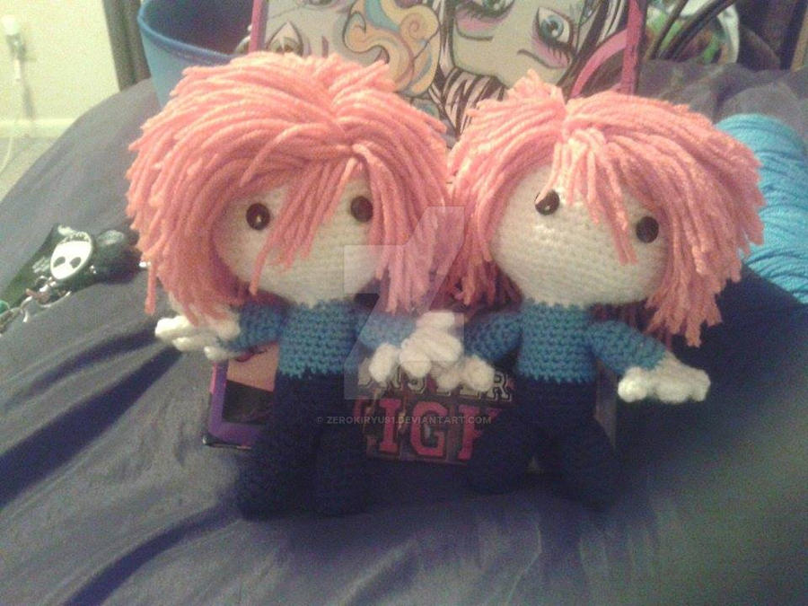 Hitachiin Twins Amigurumi by ZEROKIRYU91