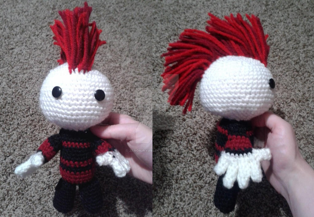 COMMISSION : Kyle's Amigurumi by ZEROKIRYU91