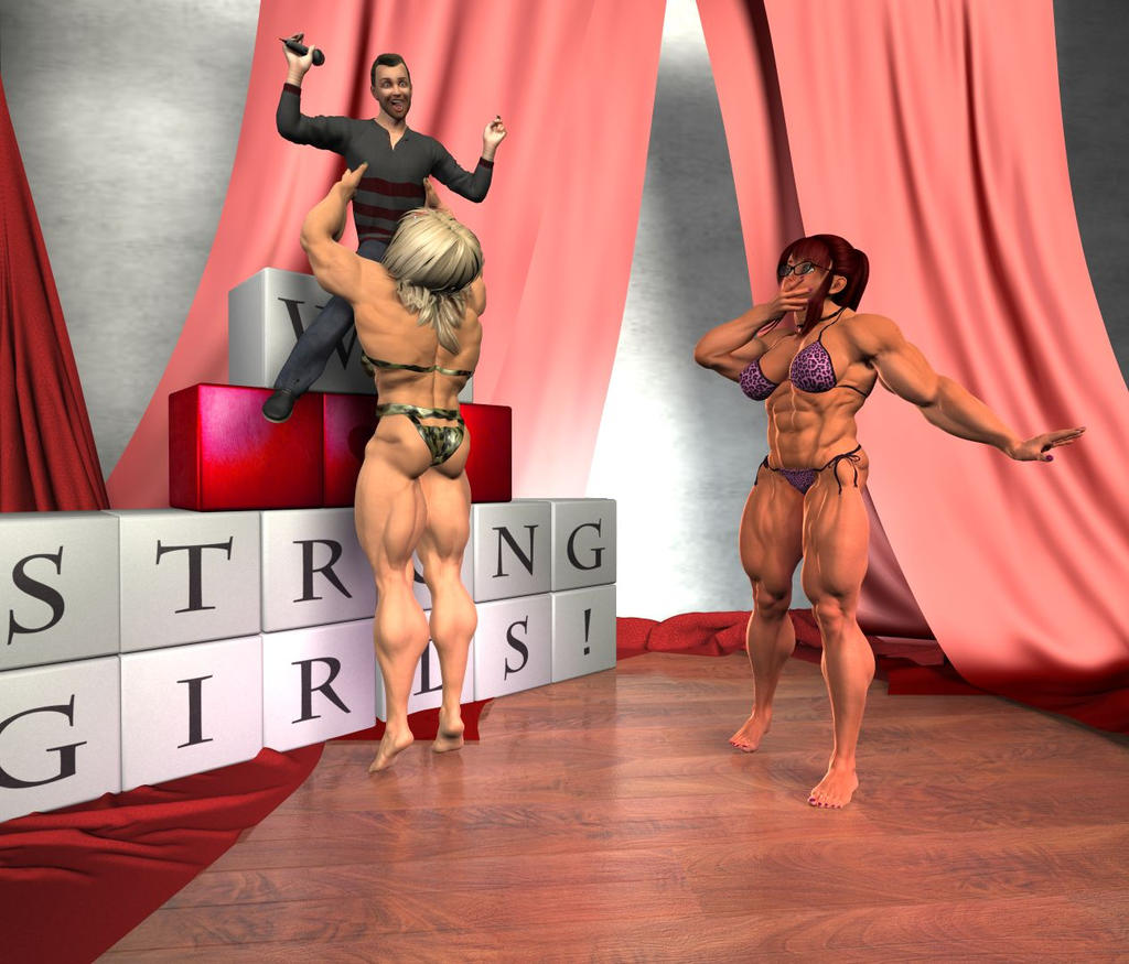 Mayumi and Dr. Luster on stage (2) by msclgrl