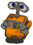 Wall-E from the movie