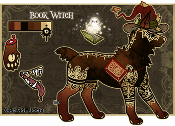 Dom Jader - Book Witch (Raffle-CLOSED