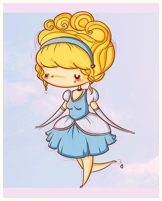 cinderella drawings tumblr - photo #25