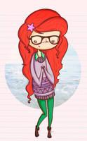 hipster ariel by agusmp