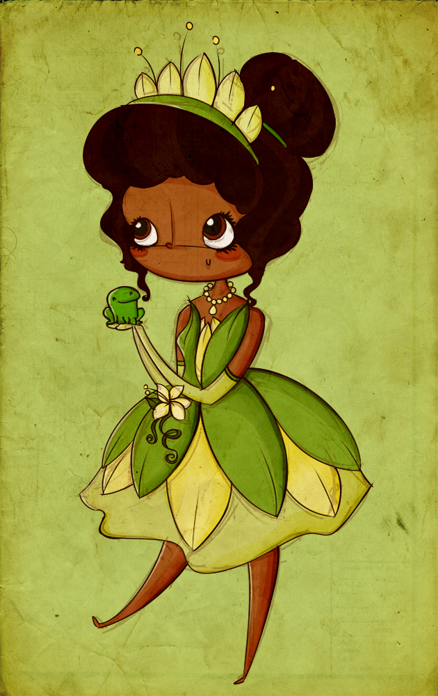 The princess and the frog wallpaper pictures