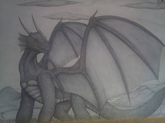 the dragon by PAINratio