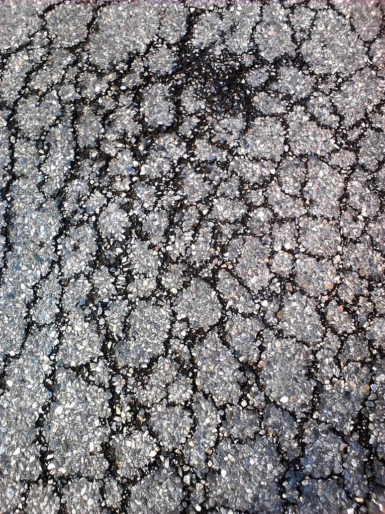 Bitumen road cracked texture by rajNdra