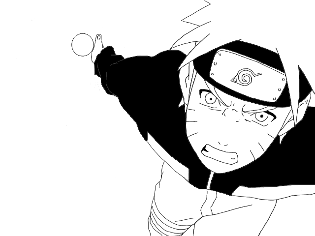 how to draw naruto using rasengan