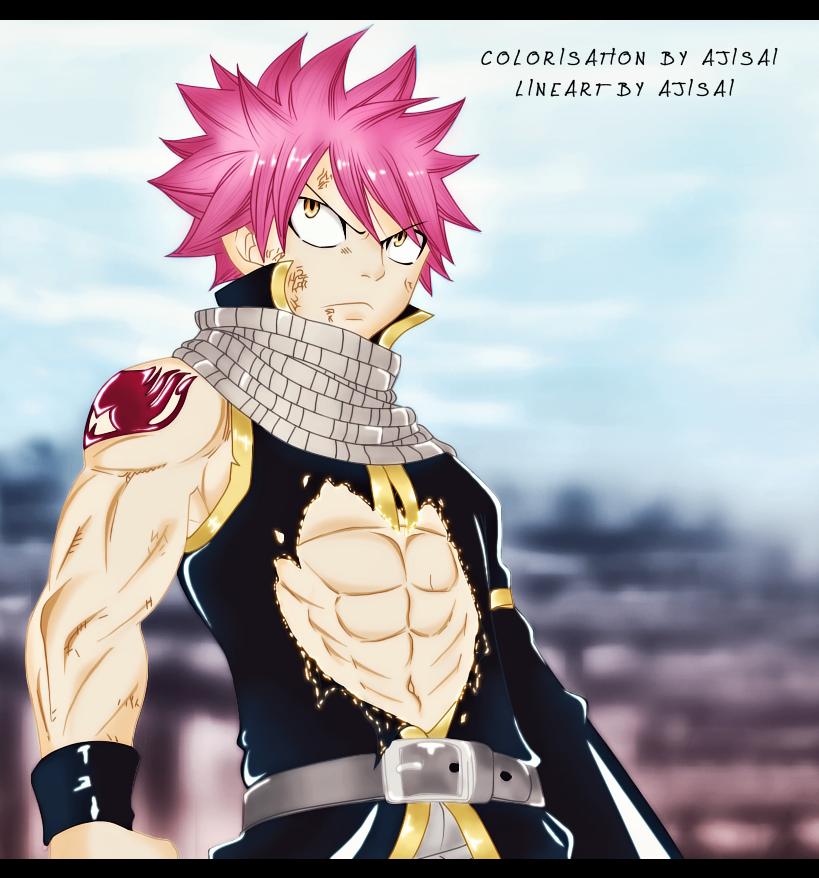 :::Aji Arts::: Natsu_attack__by_ajisai12-d5atcpf
