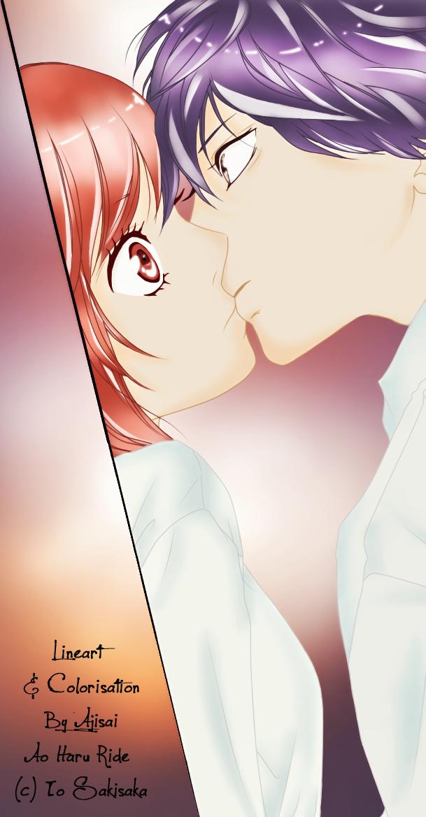:::Aji Arts::: Colorisation_ao_haru_ride_by_ajisai12-d5cdf85