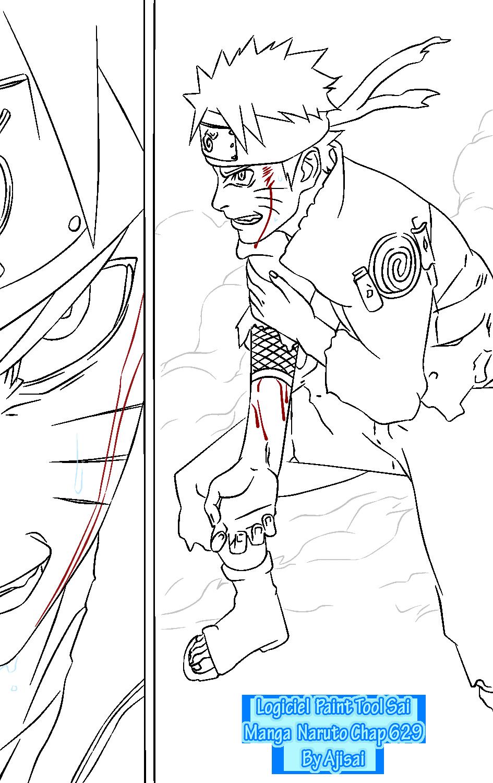 Lineart In Sai : Paint tool sai naruto lineart v by xxajisai graphicxx