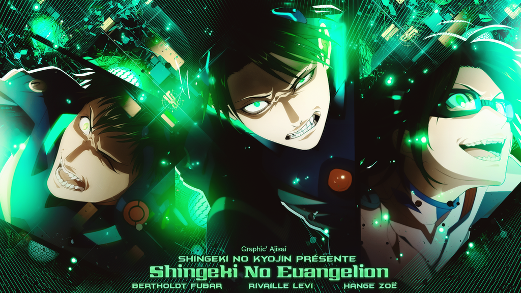 Wallpaper Shingeki No Evangelion by XxAjisai-GraphicxX
