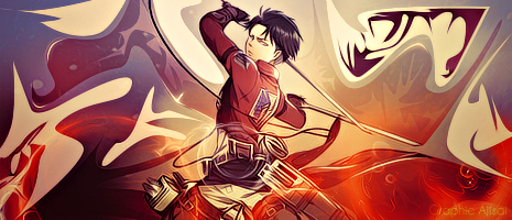 Sign Rivaille by XxAjisai-GraphicxX
