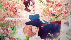 [wallpaper] Ookami to shoujo girl