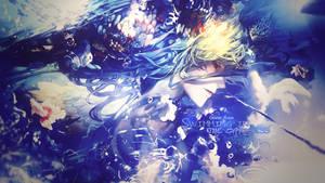 [Wallpaper] Water Boy by XxAjisai-GraphicxX
