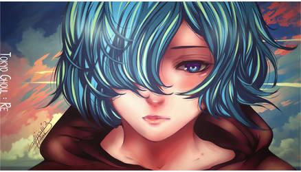 [Coloring] Touka Regl by XxAjisai-GraphicxX