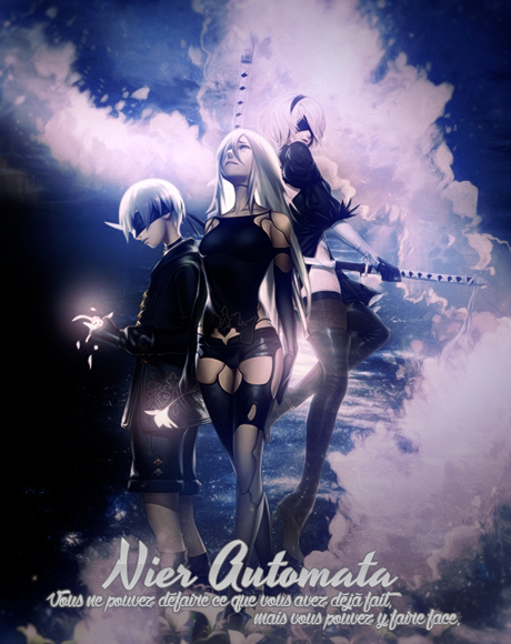 [Large Art] Nier by XxAjisai-GraphicxX