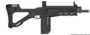 Trishula Battle Rifle