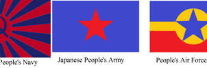 Flags of the Japanese People's Military