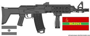 Rezovan K11R Assault Rifle