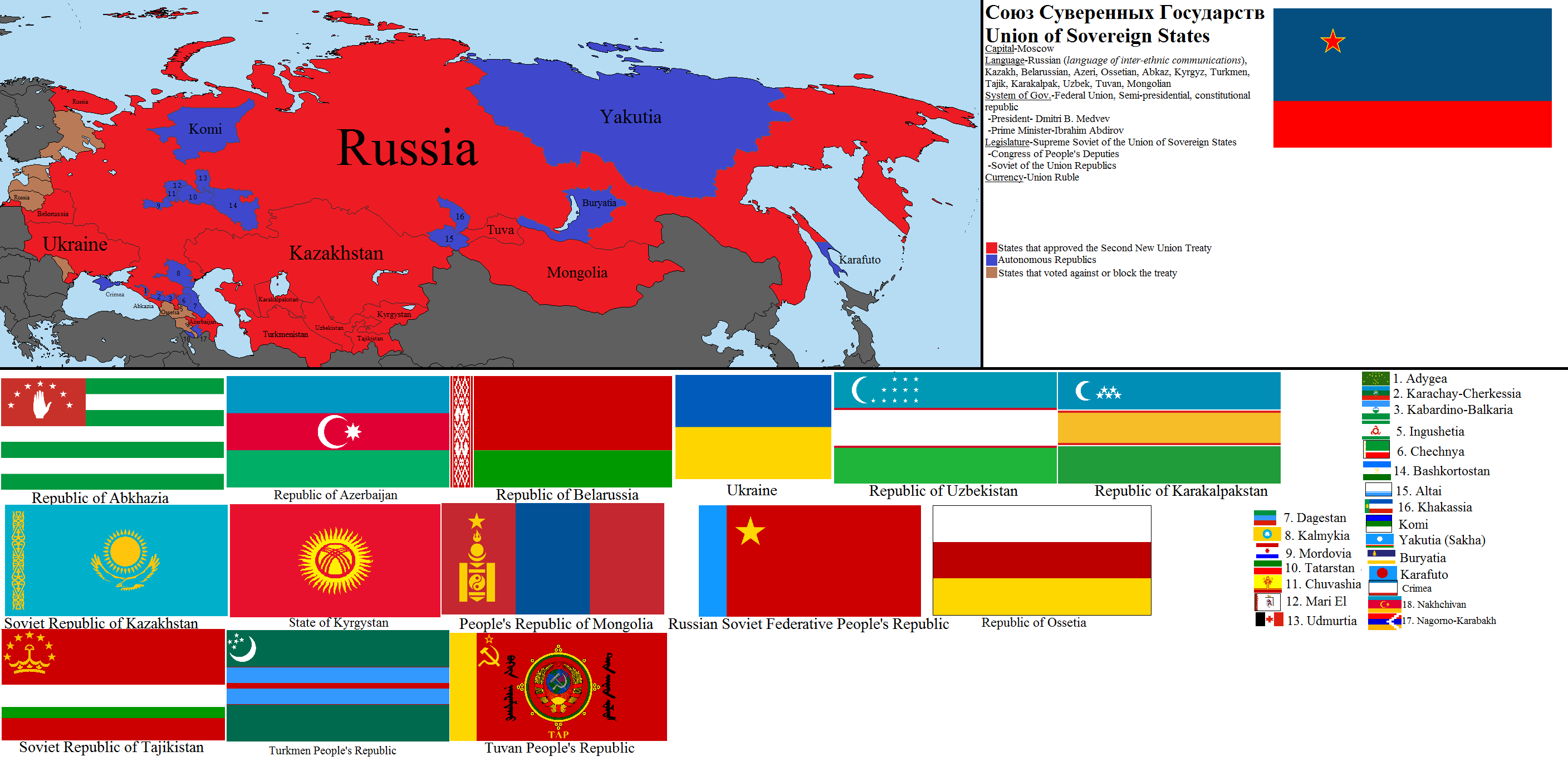 the question of true sovereignty of the former soviet members Start studying cultural geography final learn vocabulary  each member of the eu retains its full sovereignty the former soviet union.