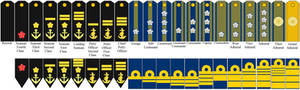Neo-Imperial Japanese Naval Rank Insignia