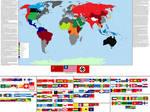 Deathworld Earth Map