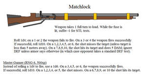 Matchlock Stats