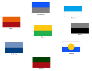 Flags of Lucius and the Seven Great Cities