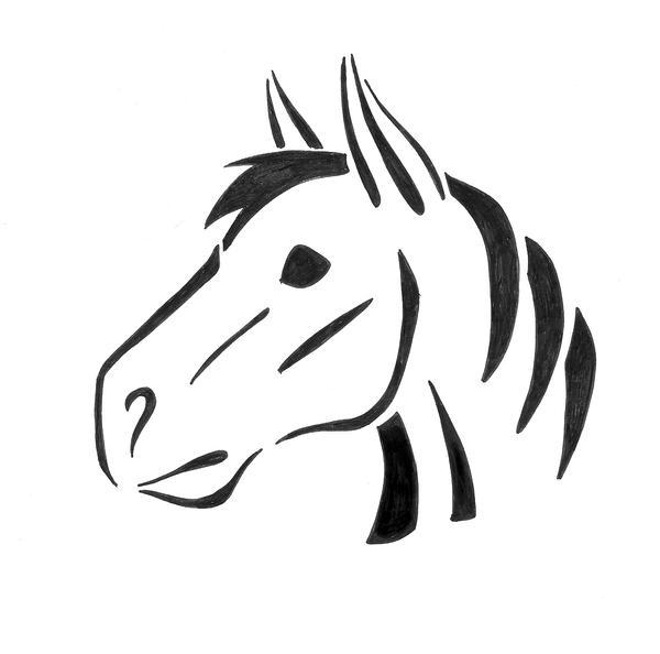 Horse pumpkin design by bloodwolf on deviantart