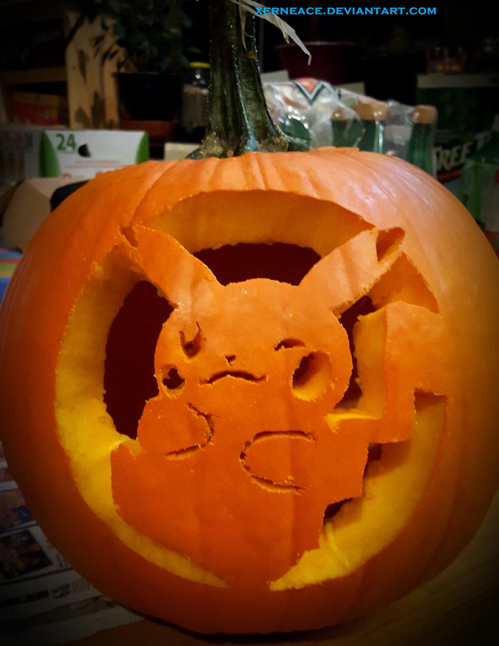 Halloween pikachu jack o lantern by xerneace on deviantart halloween pikachu jack o lantern by xerneace pronofoot35fo Gallery