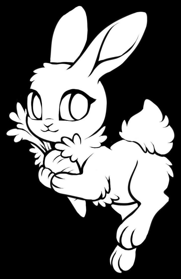 free bunny base mspaint friendly included by kakiwa on deviantart