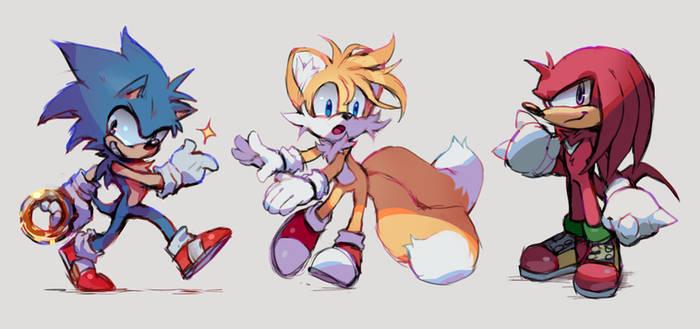 Sonic Doodles by Kakiwa