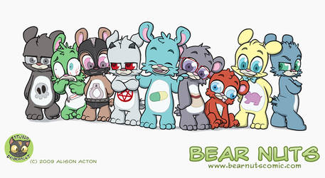Bear Nuts 2009 by Sanaril