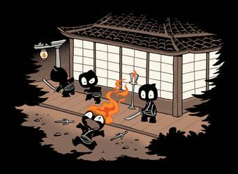 Unstealthiest Ninja by Sanaril