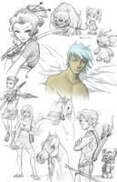 Random Giant Sketch 04 by Sanaril