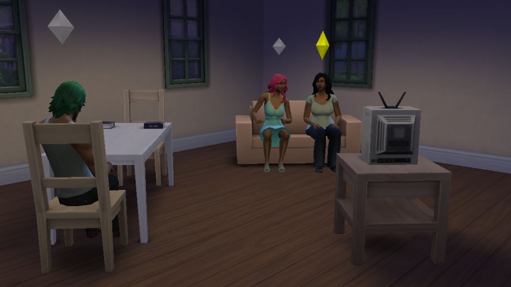 SIMS 4: 2nd Visiting Hour by Aubergine-Jeri