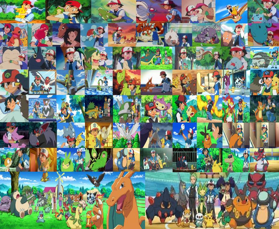 Ash and his Pokemon by OhioStateBuckeyes