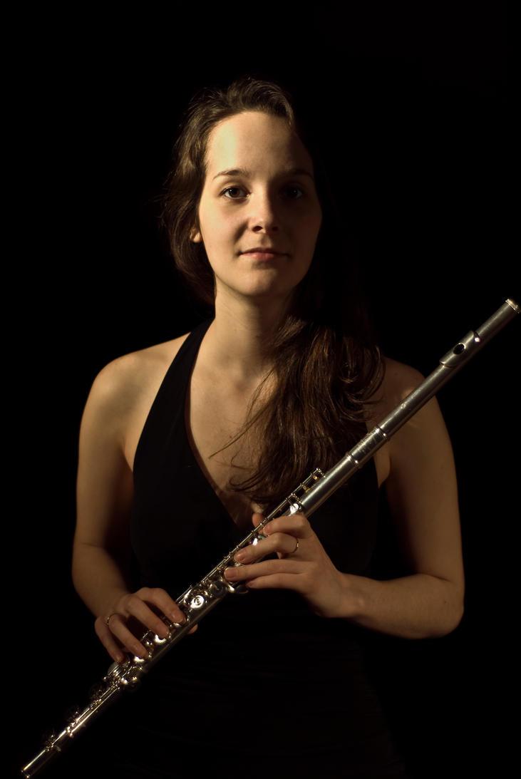 Flutist friend by ArtisticAtrocity