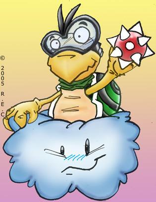 Minions of Bowser: Lakitu by Dooplissa