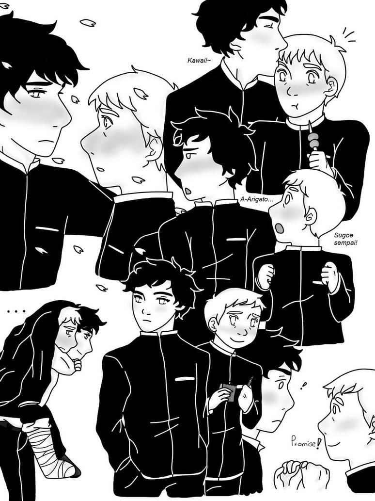 manga!lock doodles -Johnlock by neko-narusasu on DeviantArt