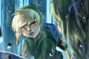 Wind Waker - Link and Zelda