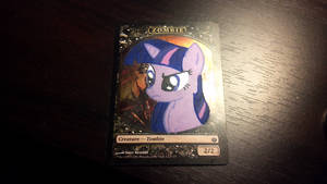 Twilight Sparkle token by StarlightBolt
