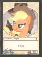 Applejack Angel Alter by StarlightBolt