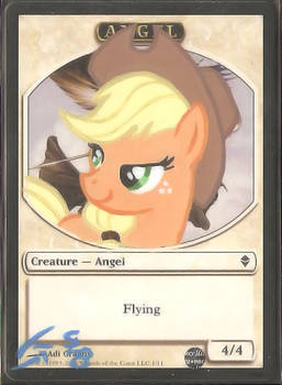 Applejack Angel Alter