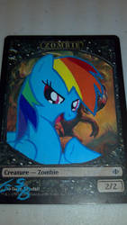Rainbow Dash Zombie Alter by StarlightBolt