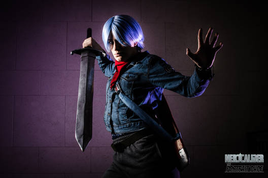Trunks Genderbend Cosplay by PepperMonster