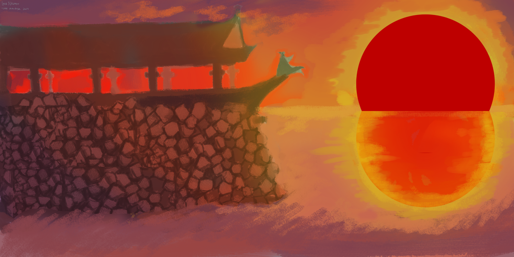 Lost Sunrise by akiakiakinori