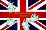 Flying Mint Bunny Shimeji WIP
