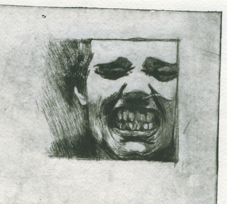Grr Billy - the etching