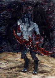 Demonhunter Zevrien by Nirvanangel